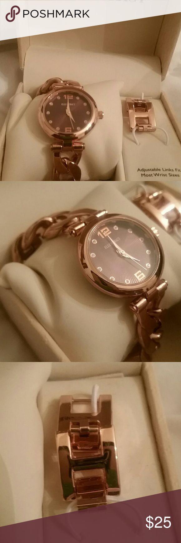 Rose gold watch Ellen Tracey rose gold watch Ellen Tracy Accessories Watches