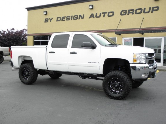 2008 chevrolet silverado 2500hd duramax diesel 4x4 33k miles 8 39 39 fabtech suspension lift. Black Bedroom Furniture Sets. Home Design Ideas