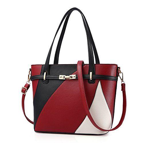 55ad4760bc SALE PRICE -  25 - Top Handle Bags for Women Leather Tote Purses Handbags  Satchel Crossbody Shoulder Bag form Nevenka