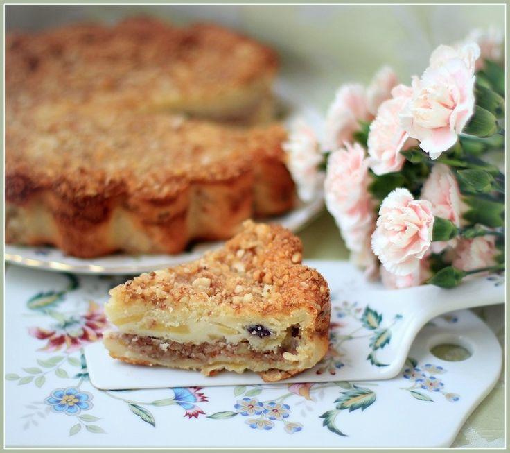 Мобильный LiveInternet Сметано-яблочный пирог с орехами | benniberry - benniberry |
