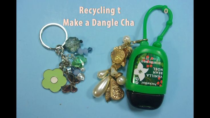 Recycling Old Jewelry to Make Dangle Charms http://cstu.io/83e5f6