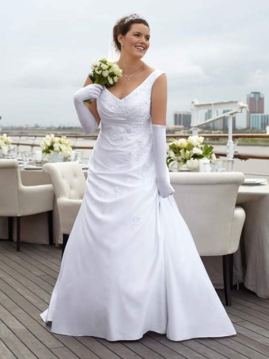 Davids bridal catalog davids bridal collection plus for Free plus size wedding dress catalogs
