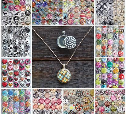 Selection of our buttons