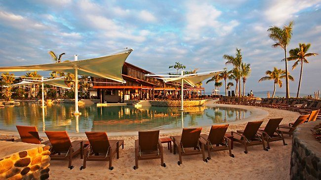 Radisson Resort on Denarau Island in Fiji. We loved our belated honeymoon here
