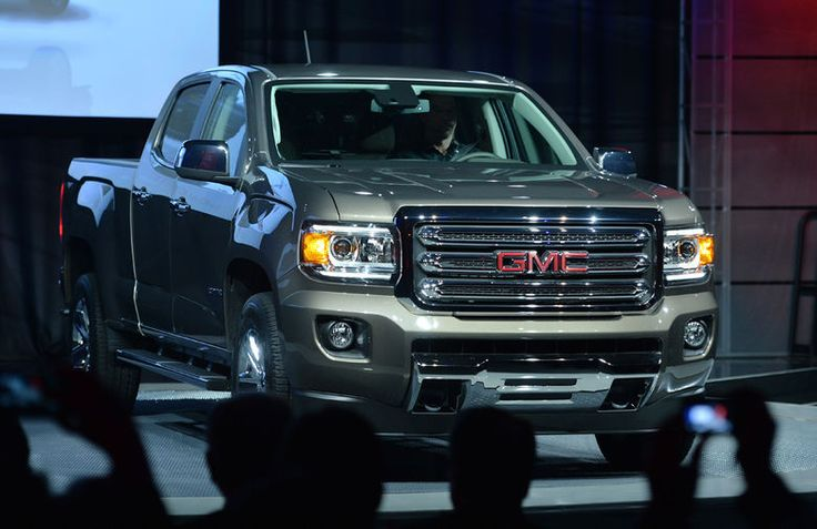 "GM presenta la nueva camioneta ""pickup"" Canyon 2015"