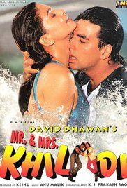 Mr And Mrs Khiladi Watch Online Free. When his astrologer uncle (Satish Kaushik) predicts a favorable future for Raja (Akshay Kumar), he decides to nothing until the prediction comes true. When he meets Shalu (Juhi Chawla) the ...