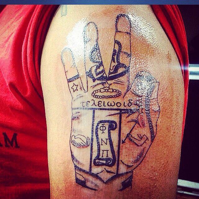 Kappa Alpha Psi tattoo