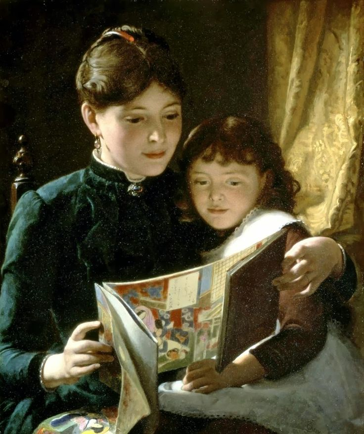 pintura de Seymour Joseph Guy (1824-1910)