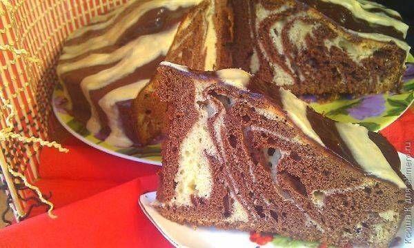 Торт Зебра / Рецепты с фото