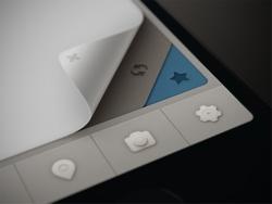 Lovely minimalist UI design