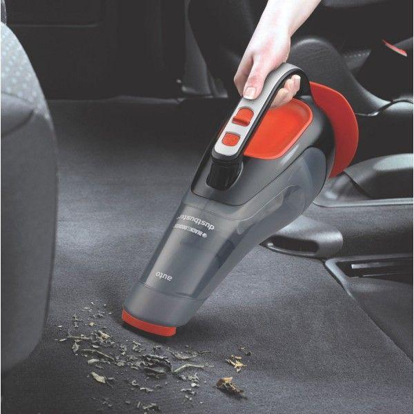 Black & Decker ADV1210 Dustbuster Automatic Car Vacuum Cleaner (Black and Orange) #VacuumCleaners #vacuum_cleaner_for_car