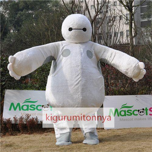 ベイマックス着ぐるみ Baymax big hero ビッグ・ヒーロー・シックス http://www.kigurumitonnya.jp/news-mascot-product/cartoon-series-big-hero-baymax-mascot-costume-for-adult.html