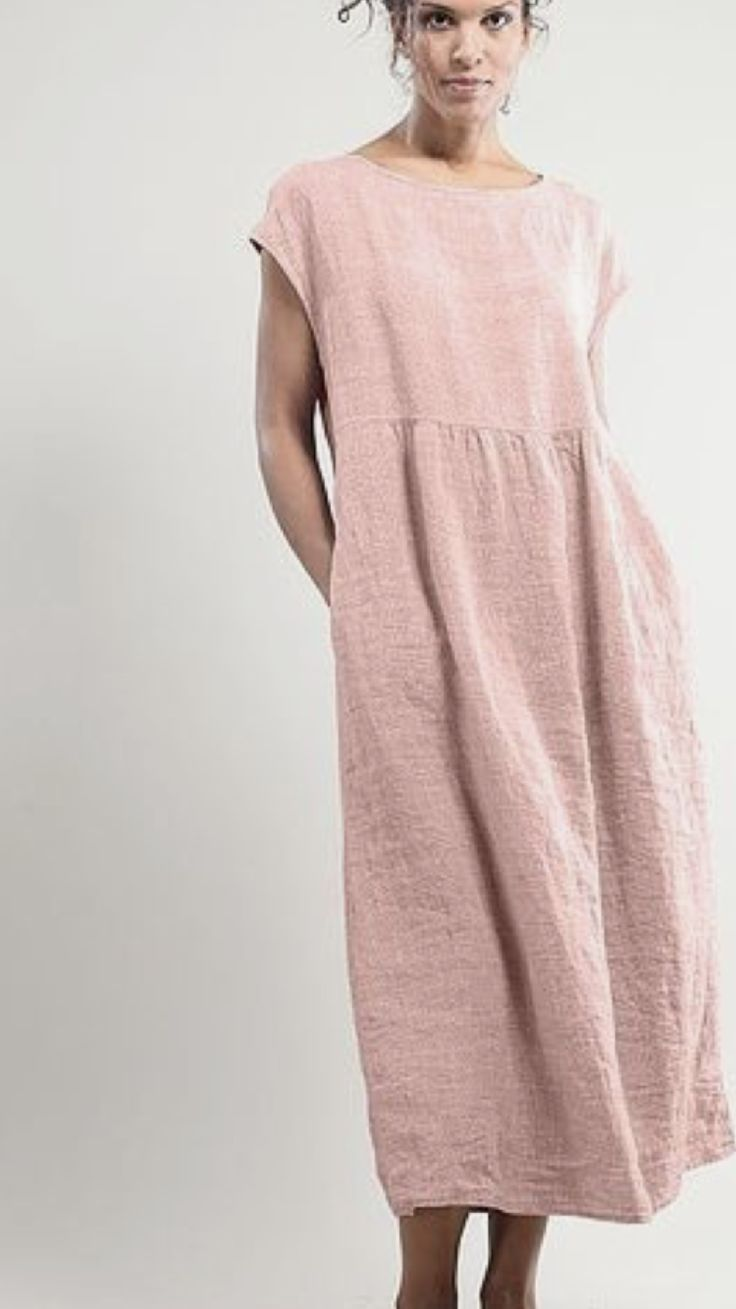 Dusty Rose Leinen Tunika – #Dusty #linen # over50 #rose #tunic   – Kochen