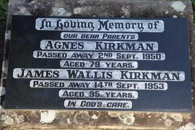 James Wallis Kirkman - Geni World Family Tree - MyHeritage