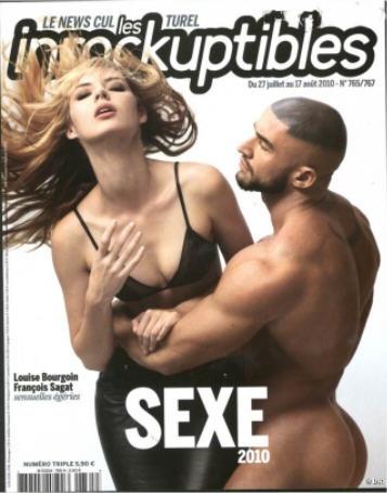 les Inrockuptibles Sexe 2010  N°765/66/67 - Parution : 27 juillet 2010