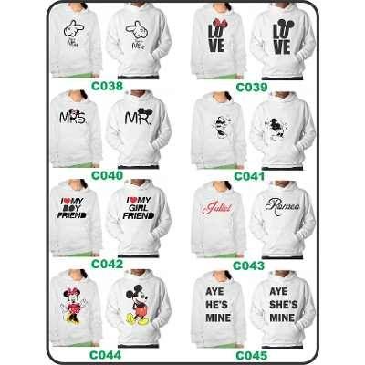Hoodies Diseños Parejas Novios Mickey Minnie a $ 295.Ropa, Bolsas y Calzado, Sudaderas y Hoodies, Mujer, Con Gorro en ElProducto.co Estado De México
