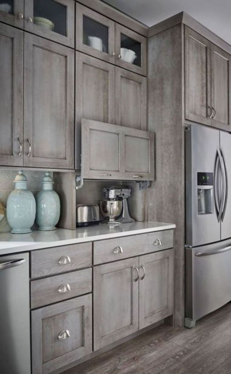 48 Awesome Modern Farmhouse Kitchen Cabinets Ideas