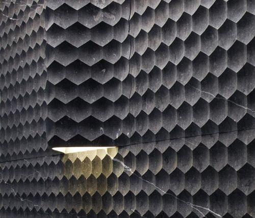 Lithos Design / Le Pietre Incise / Favo / Stone Claddings / 2011