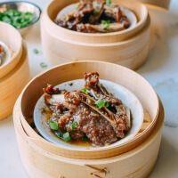 Dim Sum говядины короткие ребра с черным перцем