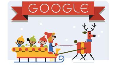 Google te deseja Boas Festas!