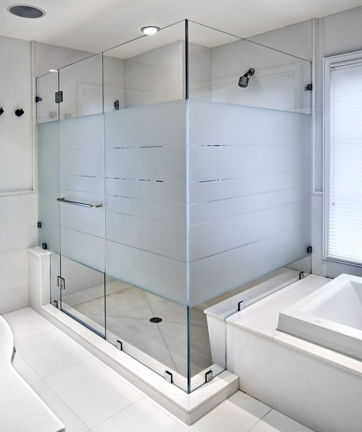 15 Best Shower Door Frosted Film Inspiration Images On