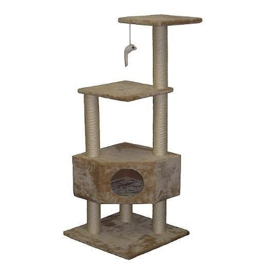 #Cat #Tree #Tower #Furniture #House For #Scratching #Kitty #Nails #Scratch #Nail #Play #Home