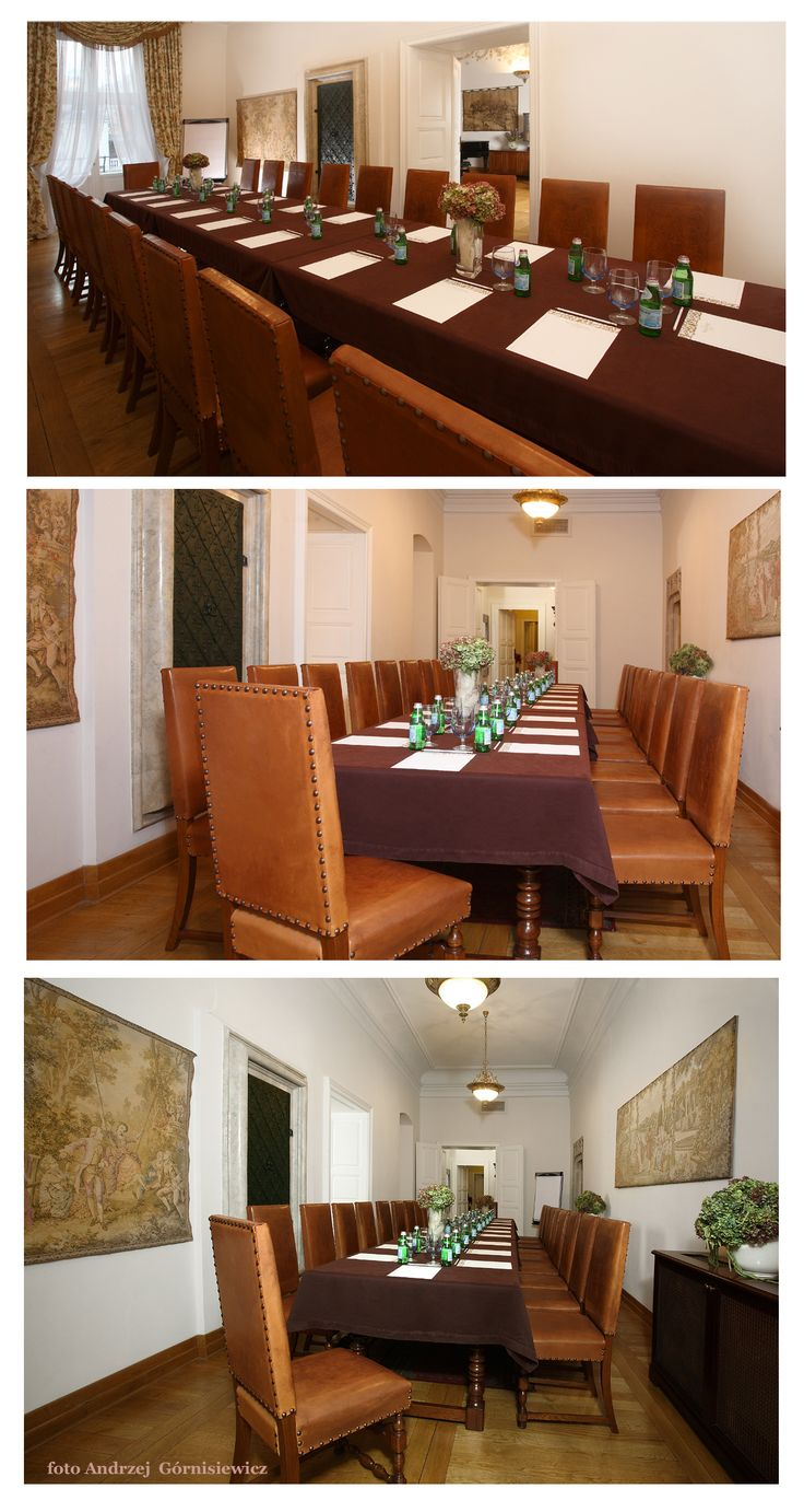 Ducal Hall, perfect for dinners and smaller meetings.  Ask about renting a hall: sales@palacbonerowski.pl #palacbonerowski #krakow #marketsquare #mainsquare #poland #luxury #travel #business #event #conference  www.palacbonerowski.pl