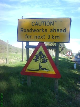Only in South Africa ... hahaha