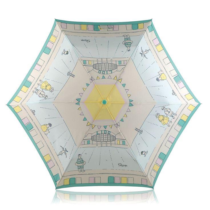 Collectables Lido Mini Crook Handle Telescopic > Buy Umbrella's Online at Radley