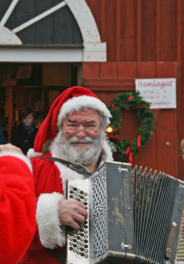 Santa Claus in Sweden