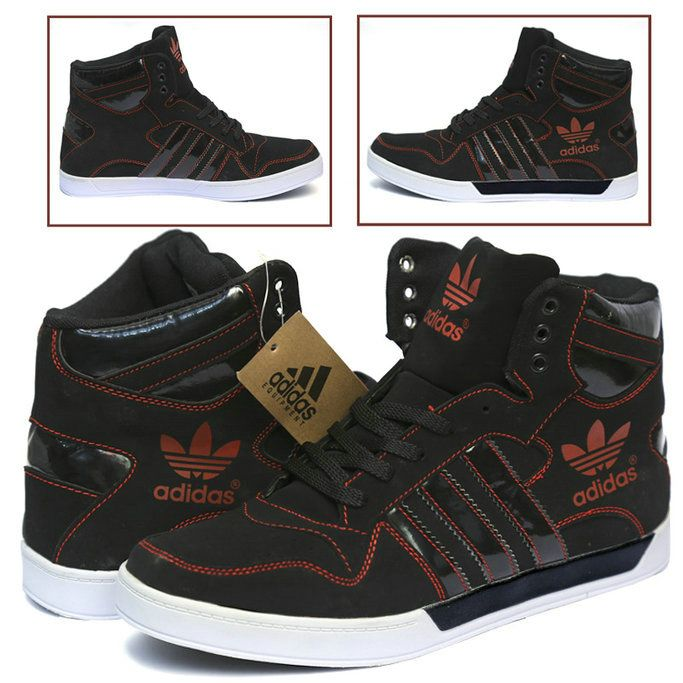 pk is bringing an amazing deal of 1 Adidas Casual \u0026 Comfortable Black And  Red Colored Shoes For Him in such low and affordable price that you can\u0027t  resist.