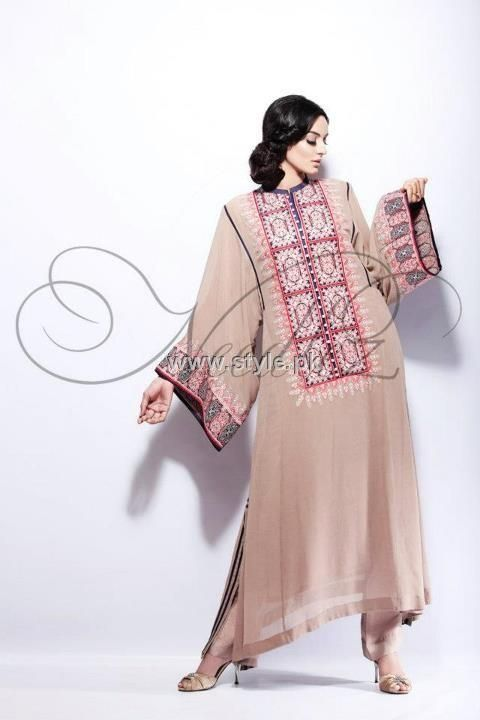 Needlez by Shalimar Semi-Formal Wear Collection 2012
