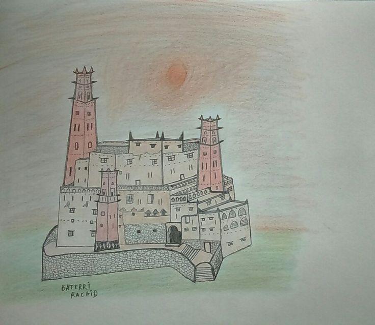 Rachid Baterri (artist illustrator from Casablanca, Morocco)