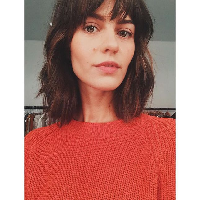 12 Instababes Who Will Make You Want This Epic French Girl Haircut via Brit + Co