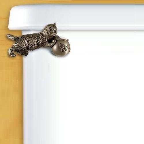 Kitten Flush Handle | Toilet | Bathroom Hardware
