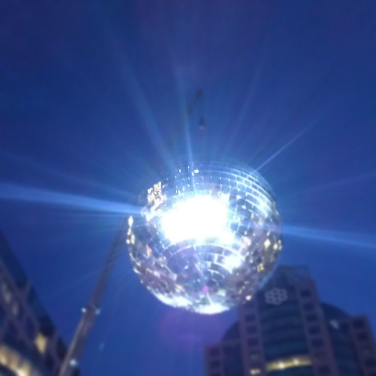 disco ball in the park!