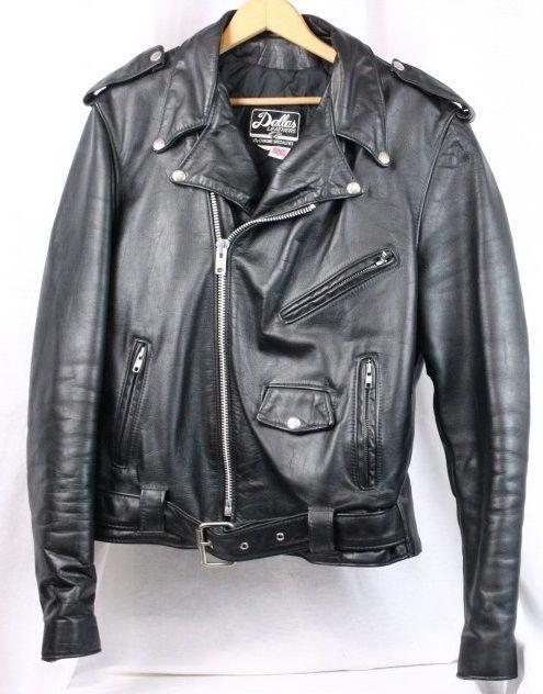 Black Leather Bomber Jacket Genuine Leather Biker Blazer Motorcycle Short Coat Hipster Style 80s Size Large ZCRkz5