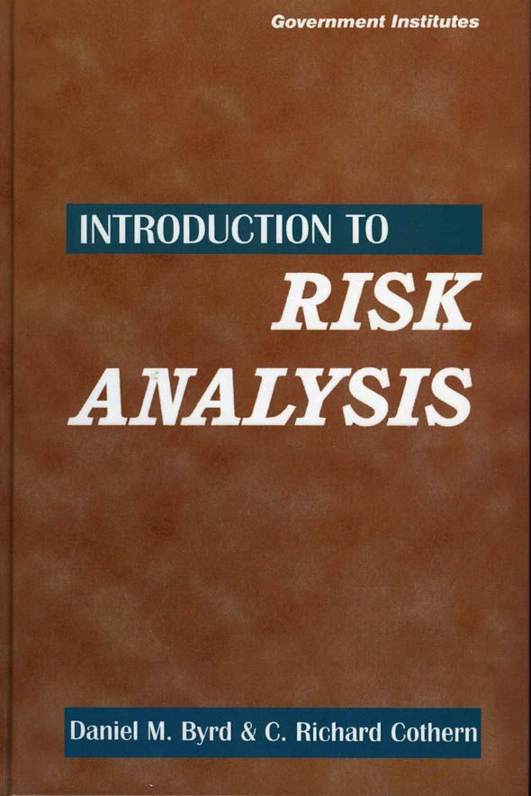 Introduction To Risk Analysis A Systematic Approach To Science