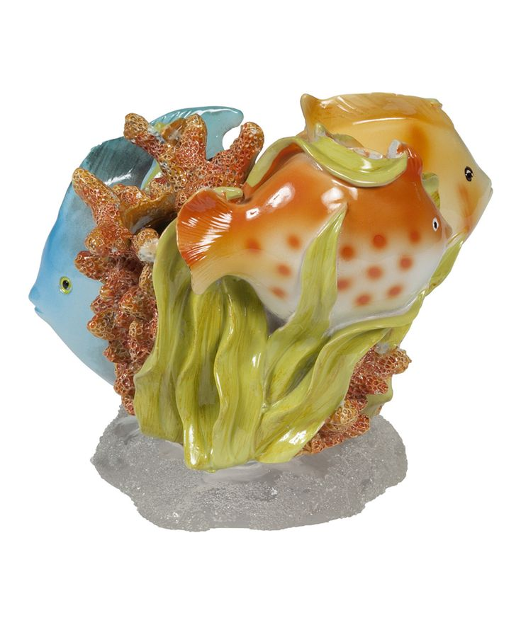 Rainbow Fish Toothbrush Holder