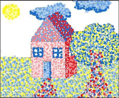 Primary Pointillism
