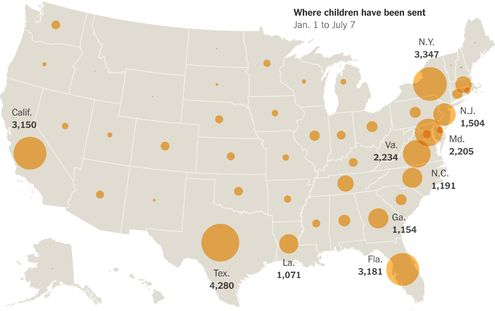 New York Times: Oct. 1, 2014 - Obama approves plan to let children in Central America apply for refugee status