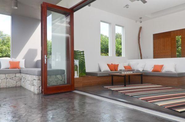 Sliding doors sapa group living room suddenly gains a new dimension