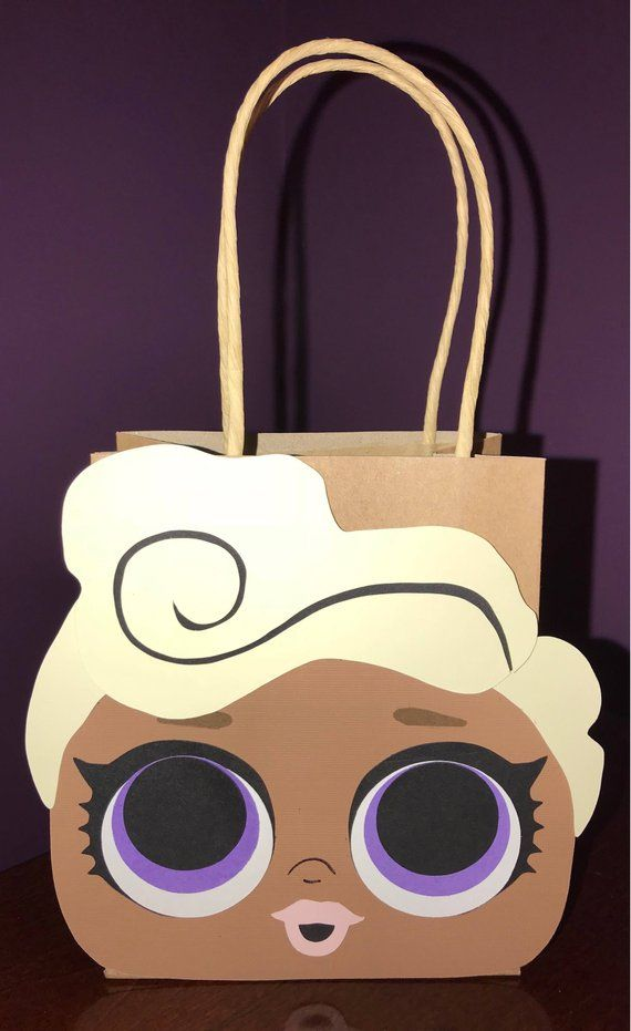 Lol Surprise Dolls Party Favor Gift Bags Goodie Bags Delilah