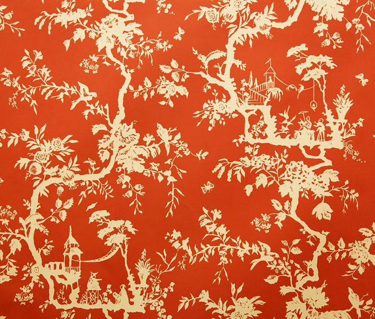 21 Best Toile Wall Paper Images On Pinterest: 52 Best Images About Chinoiserie Wallpaper And Fabric On