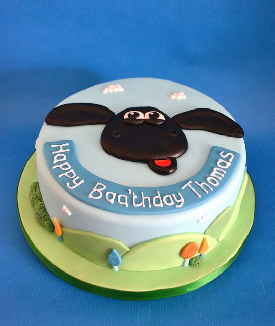 Timmy Time cake by madebymariegreen, via Flickr