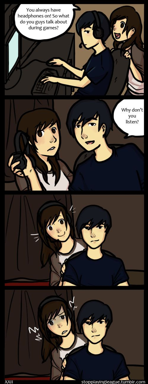 *Smirk* | Listening by TheNextProtagonist.deviantart.com on @deviantART
