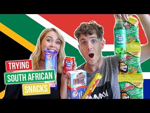 Australians Try South African Candy & Snacks - YouTube