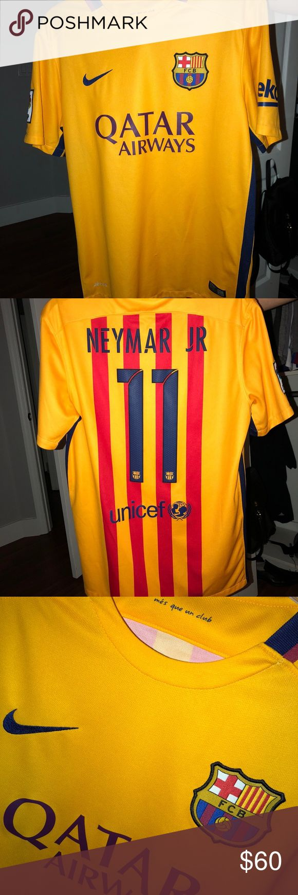 FC Barcelona Neymar jersey! Amazing condition. Authentic Barcelona jersey Nike Shirts