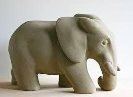 Resultado de imagen para esculturas de elefantes en for Ceramica para modelar