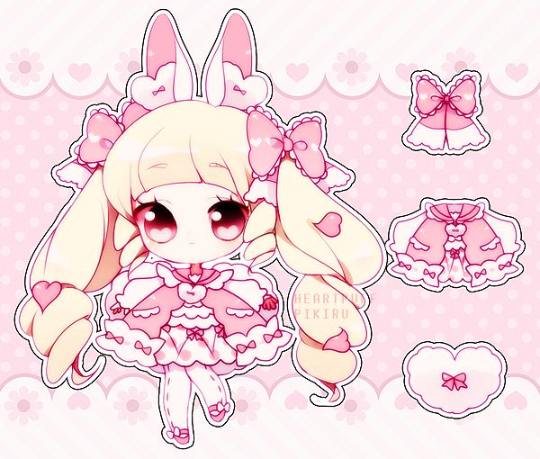 Been home the past few days because of the dangerous MERS virus going around Korea I've been lazing around the house but finally finished this bby ;w; hope she goes to a great home! <3 [Lovepuff...